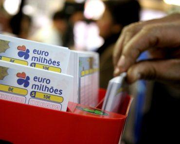 Segundo prémio do Euromilhões saiu em Portugal