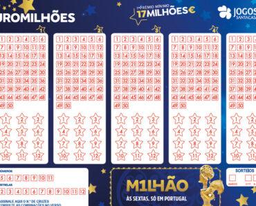 Primeiro prémio do Euromilhões saiu em Portugal