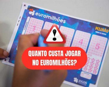 Quanto custa jogar no Euromilhões?